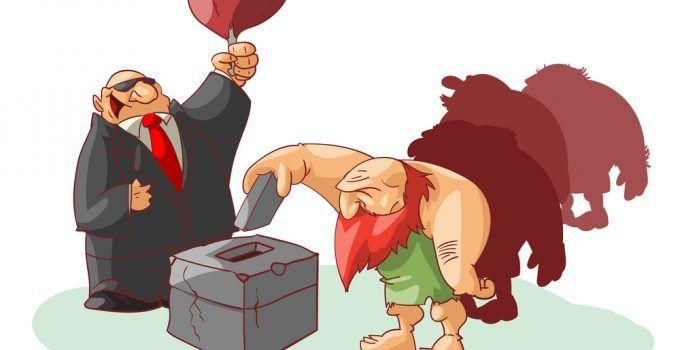 significado de voto de cabresto