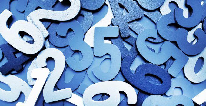 sonhar com números